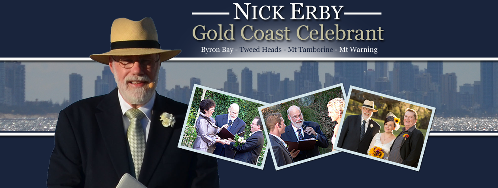 Nick Erby, Gold Coast Celebrant